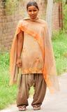 Menina deficiente Foto de Stock