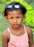 Menina deficiente Imagem de Stock Royalty Free