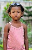 Menina deficiente Foto de Stock Royalty Free