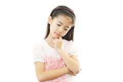 Menina deprimida fotos de stock