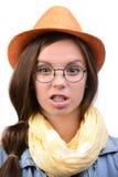 Menina do adolescente Imagens de Stock