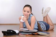 Menina do adolescente Fotos de Stock