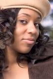 Menina do African-American Fotos de Stock