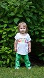 Menina do aniversário Foto de Stock