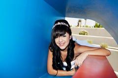 Menina do aniversário de Quinceanera Fotos de Stock Royalty Free