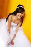 Menina do aniversário de Quinceanera Fotografia de Stock