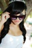 Menina do aniversário de Quinceanera Imagem de Stock