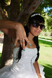 Menina do aniversário de Quinceanera Imagem de Stock Royalty Free