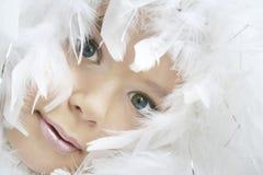 Menina do anjo imagem de stock royalty free