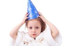 Menina do ano novo Fotografia de Stock Royalty Free