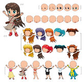 Menina do Avatar Imagem de Stock Royalty Free