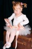 Menina do bailado Fotos de Stock