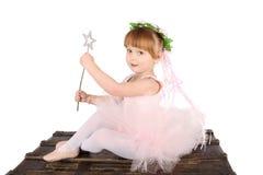 Menina do bailado imagem de stock royalty free