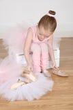 Menina do bailado imagem de stock