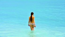 Menina do Cararibe Fotos de Stock Royalty Free