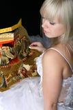 Menina do circo Fotografia de Stock