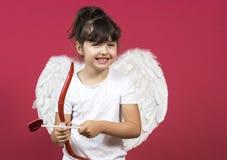 Menina do cupido Imagens de Stock Royalty Free