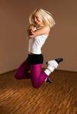 Menina do dançarino Fotografia de Stock Royalty Free