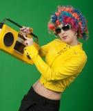 Menina do disco Imagem de Stock