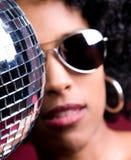 Menina do disco Fotos de Stock Royalty Free