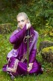Menina do duende Foto de Stock