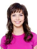 Menina do encanto com sorriso feliz Imagens de Stock Royalty Free