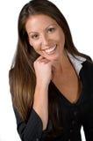 Menina do escritório principal Imagem de Stock
