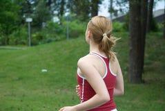 Menina do esporte fotografia de stock royalty free