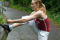 Menina do esporte foto de stock royalty free