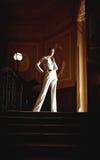 Menina do estilo do vintage fotos de stock royalty free