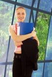 Menina do estudante da beleza Imagem de Stock
