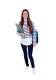 Menina do estudante do adolescente Imagens de Stock