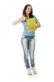 Menina do estudante universitário Fotografia de Stock Royalty Free