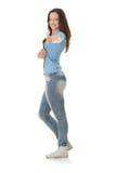 Menina do estudante universitário Imagem de Stock Royalty Free