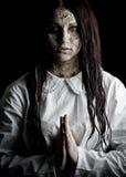 Menina do fantasma fotografia de stock