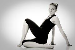 Menina do Gymnast Imagens de Stock Royalty Free