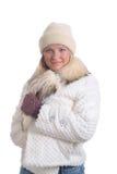 Menina do inverno foto de stock royalty free