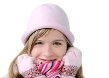 Menina do inverno Fotografia de Stock