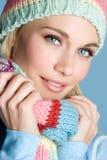 Menina do inverno Fotos de Stock Royalty Free