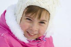 Menina do inverno Foto de Stock