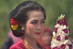 Menina do Javanese imagem de stock