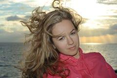 Menina do mar imagens de stock royalty free