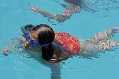 Menina do mergulho Foto de Stock