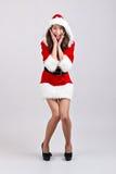 Menina do Natal Foto de Stock Royalty Free