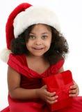 Menina do Natal imagens de stock royalty free