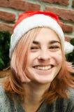 Menina do Natal Imagem de Stock