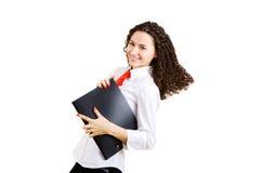 Menina do negócio Imagem de Stock Royalty Free