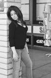 Menina do Oriente Médio urbana Imagem de Stock