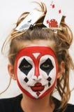 Menina do póquer Foto de Stock Royalty Free