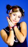 Menina do punk Fotografia de Stock Royalty Free